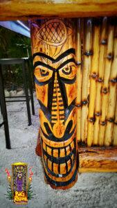 Hand Carved Tiki God