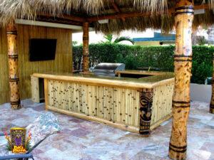 Residential Tiki Bar in Ft. Lauderdal