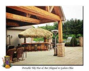 Tiki Hut and Bar in Ohio